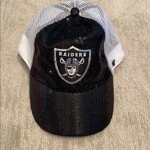 Sequin raiders hat